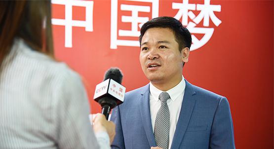 中国加盟网CEO吴天华接收CCTV采访
